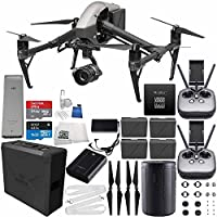 DJI Inspire 2 Premium Combo with Zenmuse X5S and CinemaDNG and Apple ProRes Licenses Cinematographer 120G Ultimate Bundle