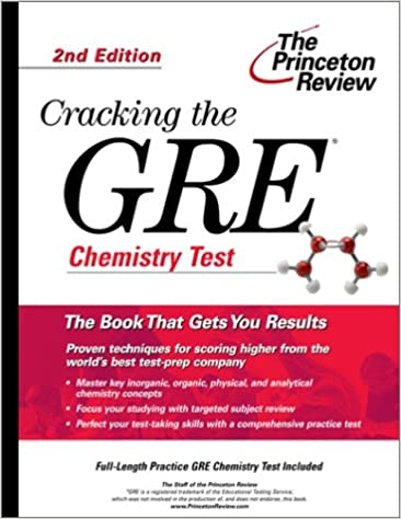 Gre Chemistry Test Practice Book