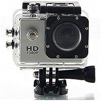 Easypro Waterproof 1080P Camcorder Action Camera (Multicolour)