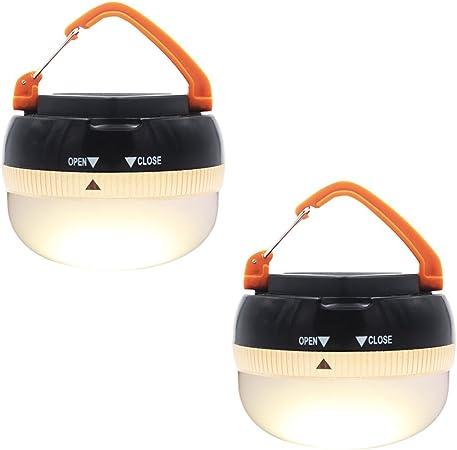 S-type Portable Outdoor Two-way Climbing Camping Light Hook Lantern Hanger 3pcs
