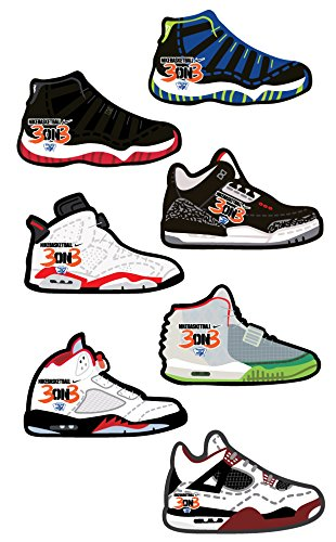 - FreshandWipe Sneaker Style Auto Car Air Freshener Comes with Seven Great Fragrances with Elastic Holder (7 Count)