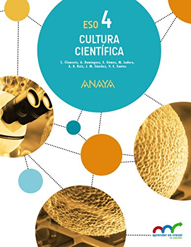 (16).CULTURA CIENTIFICA 4ºESO (APRENDER CRECER CONEXION)
