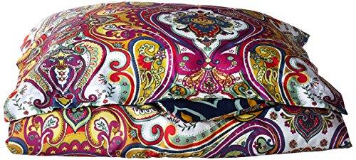 Delhi Cover (Chic Home 2 Piece Paisley Global Inspired Delhi Reversible Duvet Set, Twin,)