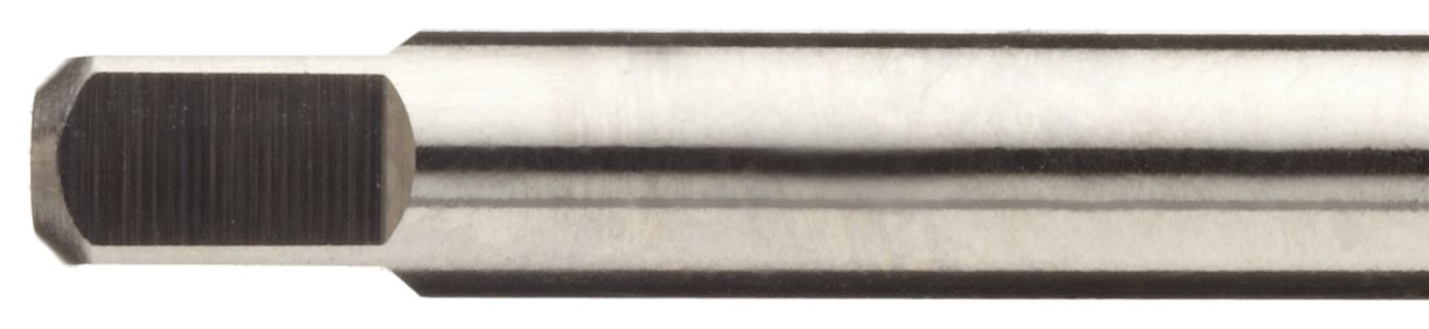 H2 Tolerance Union Butterfield 1534 UNC Finish Plug Chamfer Uncoated Bright 5-40 Thread Size High-Speed Steel Spiral Point Tap Round Shank with Square End