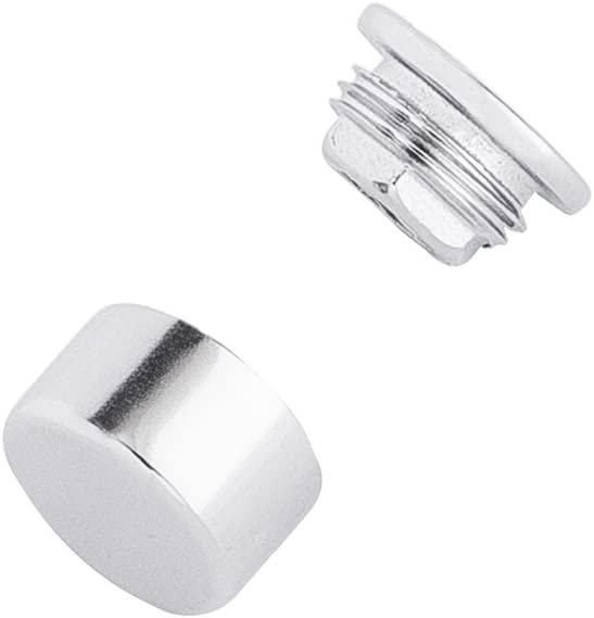 Flat Button Cap//Cover Fitting for 3//16 Wire Rope on Cable Rail Deck T 316 Stainless Steel Cable Quick Nut /& Cover
