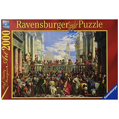 Ravensburger Puzzle–Mariage à Cana (2000pièces)