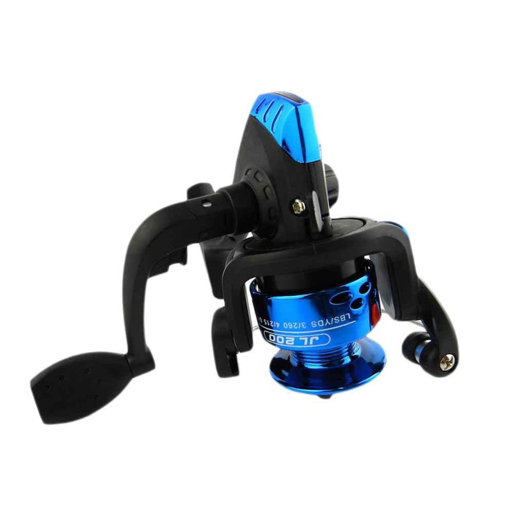 Luckiests Electroplate Carrete Pesca Spinning Wheel Pescado mar ...