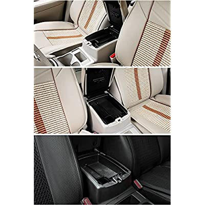 Vesul Armrest Secondary Storage Box Glove Pallet Center Console Tray Compatible with Nissan Rogue 2014 2015 2016 2020 2020 2020 2020: Automotive