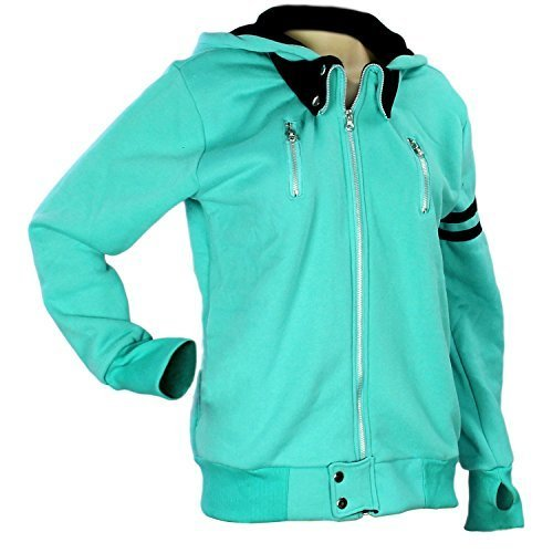 181 Ken - Anime Tokyo Ghoul Costume Kaneki Ken T Shirt Cosplay Hoodie Casual Sport Clothing, Light Teal, (M)