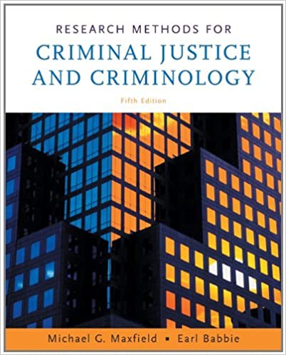 Research methods for criminal justice and criminology michael g research methods for criminal justice and criminology 5th edition fandeluxe Choice Image