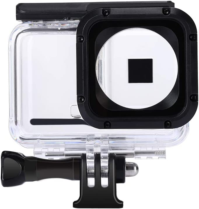 Waterproof Housing Case for Insta360 ONE R 1 Inch Edition, Underwater Diving Protective Shell 60M/196FT with Bracket Accessories
