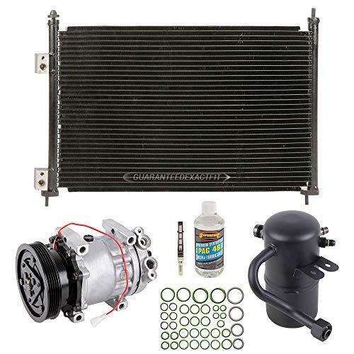 A/C Kit w/AC Compressor Condenser & Drier For Mazda 626 2.0L 1998-2002 - BuyAutoParts 60-89667CK New (Compressor Mazda A/c 626)