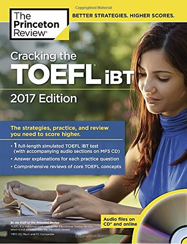 Cracking the TOEFL iBT with Audio CD (College Test Preparation)
