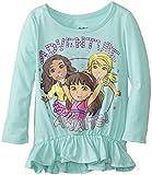 Dora Little Girls Toddler Fashion T-Shirt, Mint, 4T