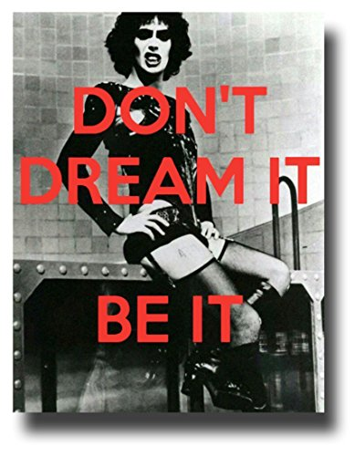 Rocky Horror Picture Show Poster Movie Promo 11 x 14 inches Dont Dream It Be It