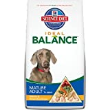 Hill's Science Diet Ideal Balance Mature Adult Chicken and Brown Rice Dinner Dry Dog Food Bag, 30-Pound, My Pet Supplies