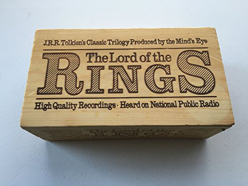 Price comparison product image The Lord of the Rings Cassette Recordings,  12 1-hour Tapes with Collector's Box