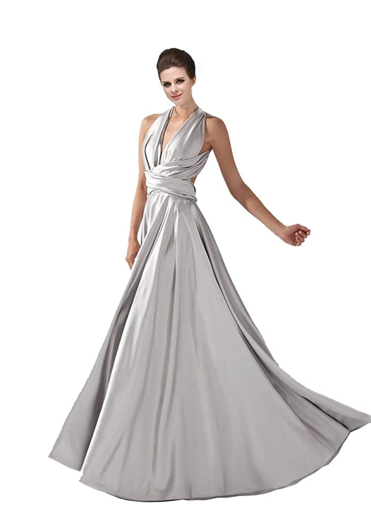 SZ1024 Women's Multivariant Style Long Formal Evening Dresses Variety Model Prom Gowns