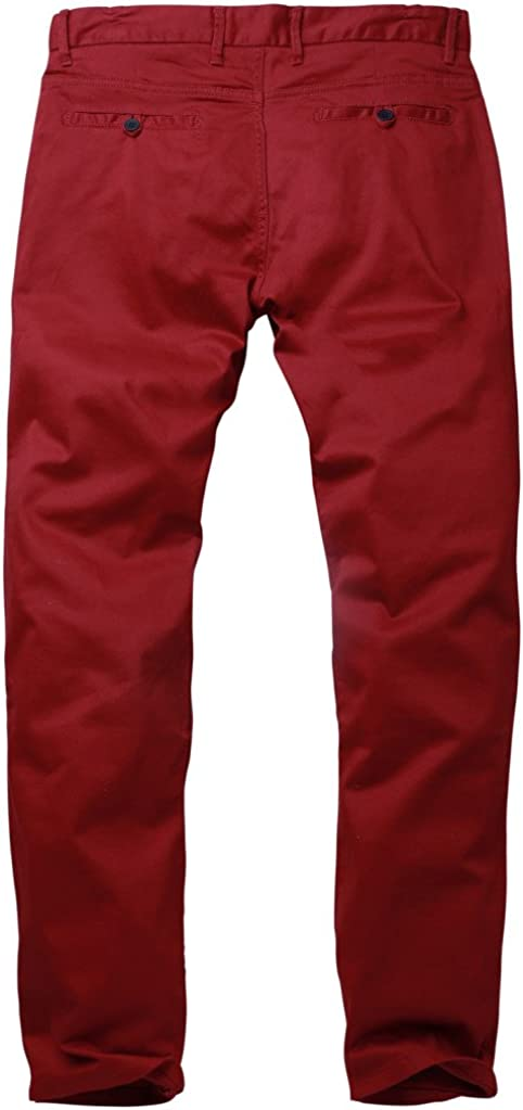 Matchstick Mens Slim Stretchy Casual Trousers#8050