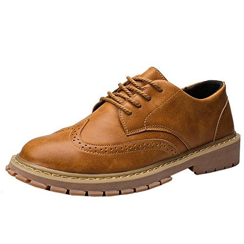 Zanpa Casual Brown Scarpe Uomo up Lace Light wgWT8qwS