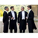 Downton Abbey Hugh Bonneville as Robert Crawley, Earl of Grantham Having Drinks with the Men 8 x 10 Inch Photo