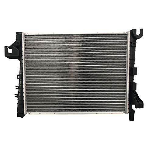 BOXI Radiator Direct Replacement Assembly for Dodge Ram 1500 V8 5.7L 2004-2008 / Dodge Ram 2500 3500 V8 5.7L 2004-2009 / CU2813 55056481AB