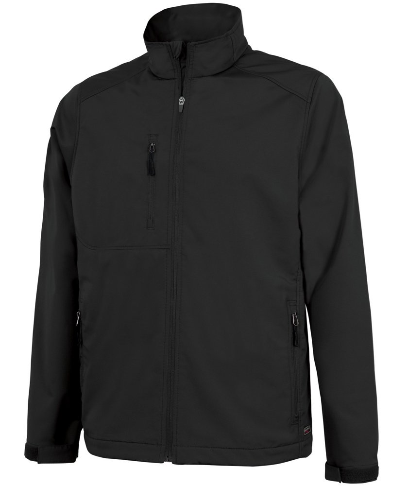 Charles River Apparel Men's Axis Soft Shell Jacket, Black, 3X-Large