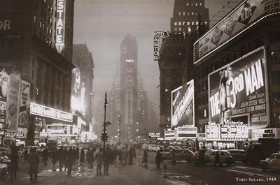 Times Square Art Print 36 x 24in
