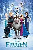 Gb eye ltd frozen - poster reine des neiges- 61 x 91cm - &quot