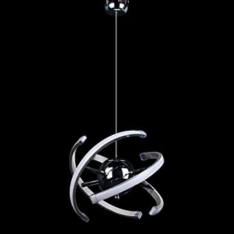 ELINKUME LED Pendelleuchte Modular Design Hänge Lampe Lesezimmer ...