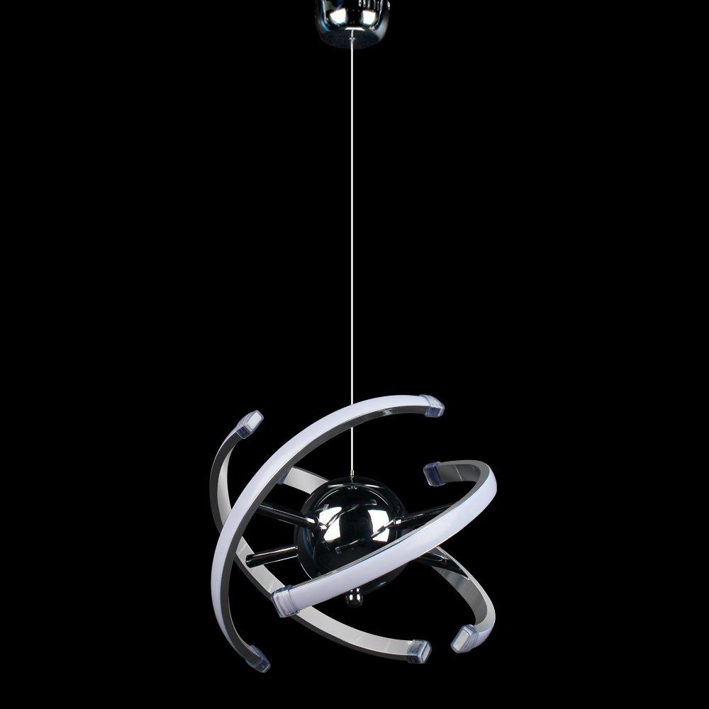 ELINKUME 23W LED moderna lámpara colgante de techo iluminación decorativa, ajustable DIY lámpara product image