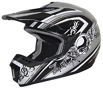 "ZOX Roost X casco de ""gótico blanco/rosa ..."