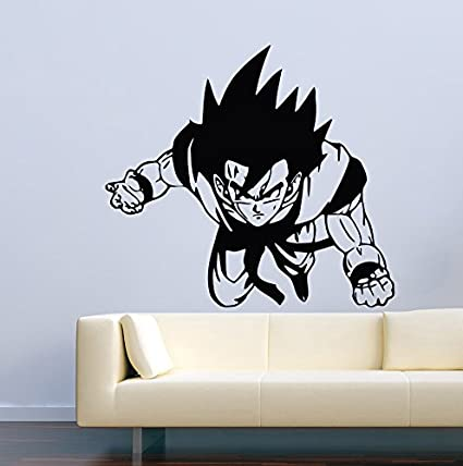 amazon com anime wall decal for boys girls dragon ball z decoramazon com anime wall decal for boys girls dragon ball z decor vinyl stickers mural mk1057 home \u0026 kitchen