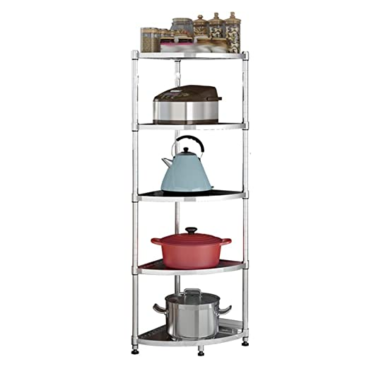 Soporte para microondas/Estante de Cocina Multi-Capa Pan rack ...
