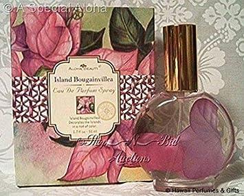 Aloha Beauty Hawaiian Island Bougainvillea Eau De Parfum Spray 1.7 oz