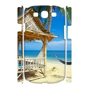 Island Beach Phone Case For Samsung Galaxy S3 I9300 [Pattern-1]