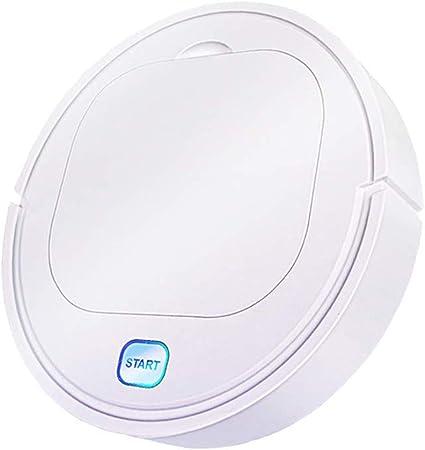 Hankyky ES28 Aspiradoras robóticas Inteligentes,3 en 1 Aspirador/trapeador/Barrido Sweeping Robot Carga,USB Máquina automática de Limpieza del hogar Aspiradora Inteligente aspiradora Mascota: Amazon.es: Hogar