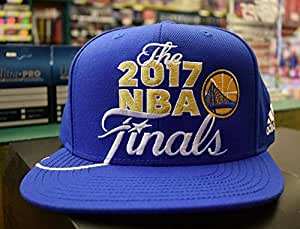 Blue The 2017 NBA Finals Basketball Golden State Warriors Snapback Hat