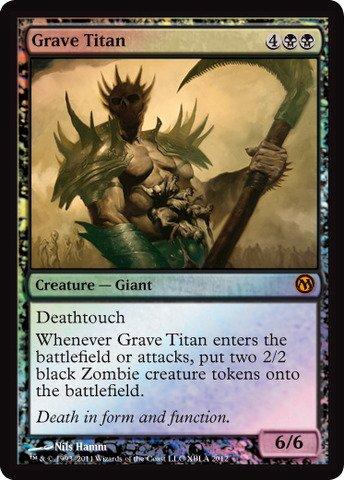 Magic The Gathering - Grave Titan - Unique & Misc. Promos
