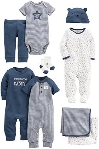 Carter's Baby 9-Piece Basic Essentials Set