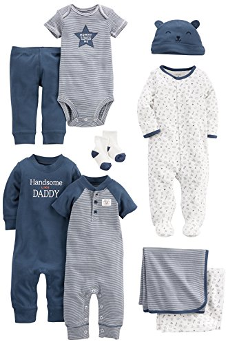 Carters Baby 9 Piece Basic Essentials