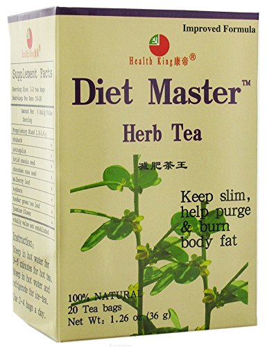 Diet Herb Master Tea (Health King Diet Master Herb Tea - 20 Tea Bags)