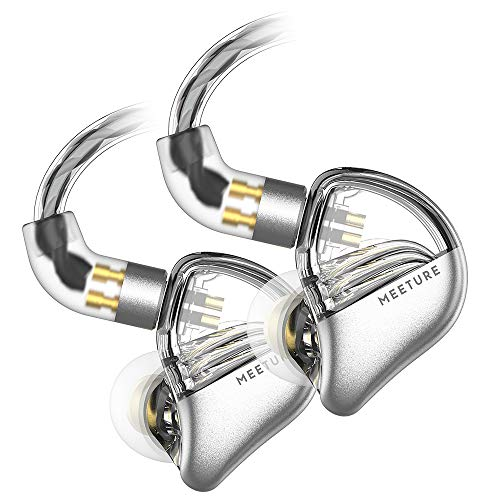 SIMGOT MT3 Hi-Res in-Ear Monitor Headphones, IEM Earphones with Detachable Cable, Noise-Isolating Musician Headset with…
