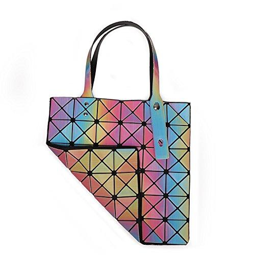 Diagonale à Mode Bandoulière Lingge à Géométrique à La Bandoulière Sac KYOKIM Rainbow Sac qwt4OO