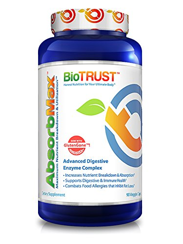 BioTrust AbsorbMax Digestive Enzyme Complex, 90 capsules