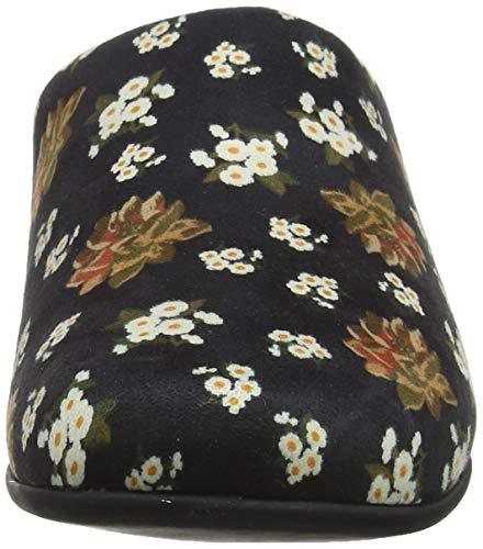 Floral Dark Donna 001 Pantofole Chrissie black Nero Fitflop 8qECw5
