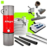 Cheap Allegro Central Vacuum MU4100 3,000 sq. ft. Unit and 30 ft Hose and Powerhead Kit