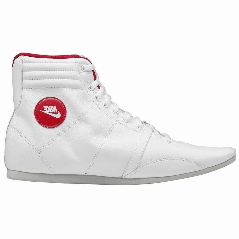 NIKE Hijack Mid Womens Leather sneakers/Boots - White - SIZE US 8