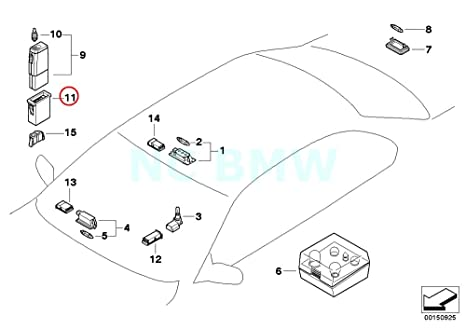 Amazon Com Bmw Genuine Support F Chargeable Handlamp Automotive