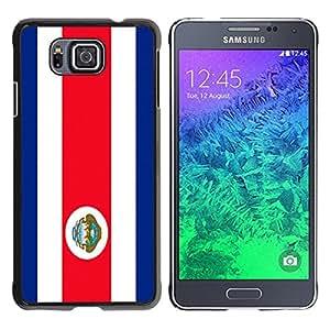 - Flag - - Monedero pared Design Premium cuero del tir¨®n magn¨¦tico delgado del caso de la cubierta pata de ca FOR Samsung GALAXY alpha G850 SM-G850F G850Y G850M Funny House